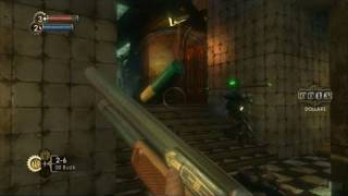 BioShock PlayStation 3 Gameplay - Static Discharge