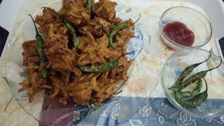 Kanda bhajiya | pyaz ke pakode | see how to make tasty kanda bhajia