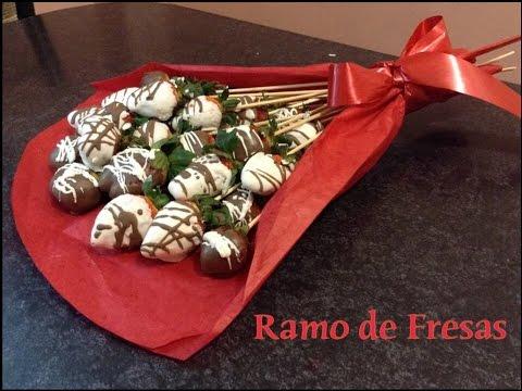 Ramo De Fresas San Valent 237 N Youtube