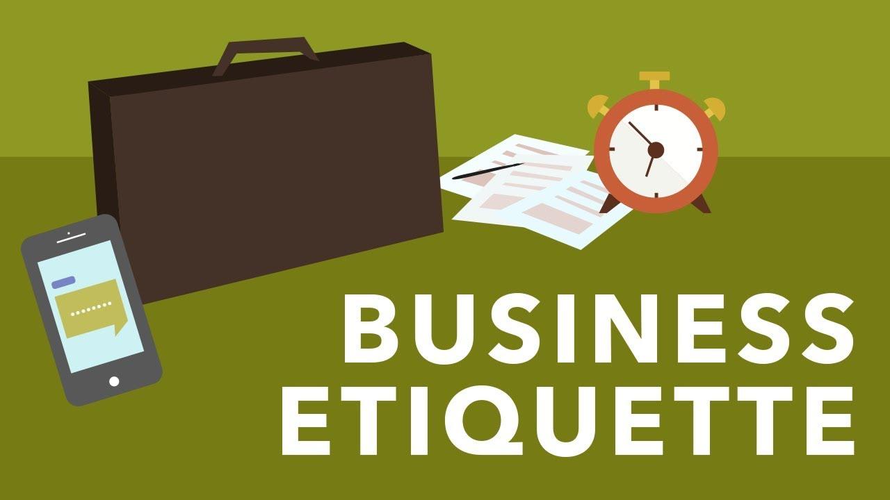 Job Success: Business Etiquette