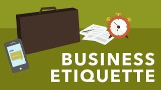 Gambar cover Business Etiquette Basics