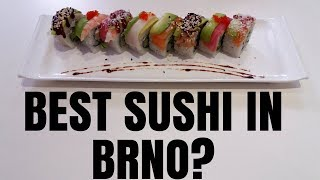 Best SUSHI in Brno? | Best things to do in Brno