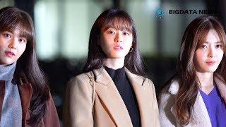 [BIG영상][4K] AOA(에이오에이) 설현 포커스 12월 21일 뮤직뱅크 리허설 출근길