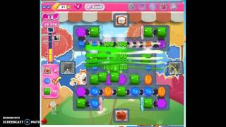 Candy Crush Level 1696 help w/audio tips, hints, tricks