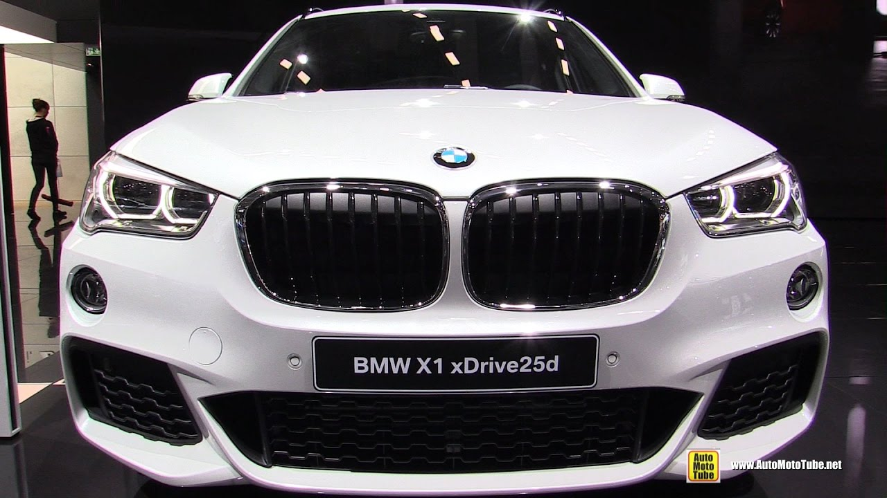 2017 bmw x1 25d xdrive m sport exterior and interior walkaround 2016 paris motor show youtube. Black Bedroom Furniture Sets. Home Design Ideas