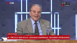 19-03-2019 - Carlos Heller en C5N – Minuto Uno, con Gustavo Sylvestre - 40 Años del Banco Credicoop