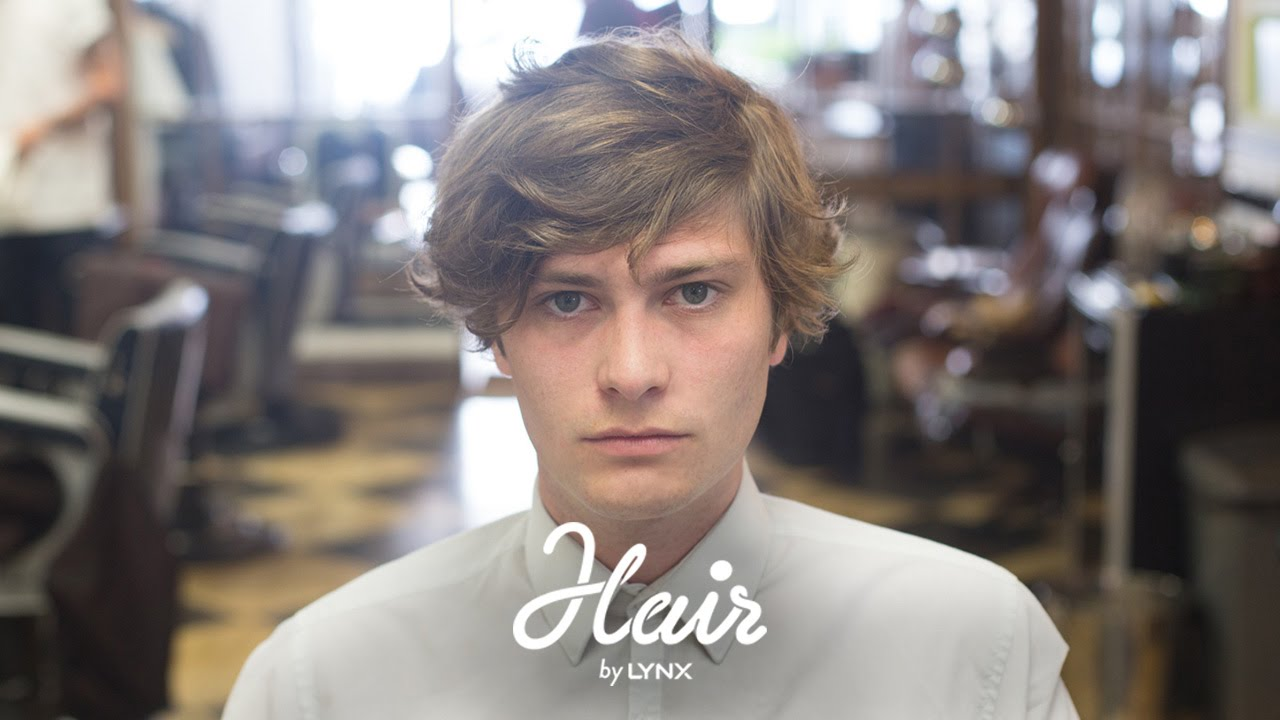 Hair by Lynx  The Messy Look  Mens Hairstyles 2014