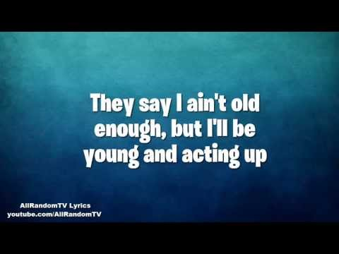 Asher Roth - Actin' Up (Feat. Rye Rye, Justin Bieber, Chris Brown) Lyrics!