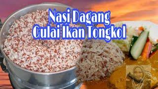 Nasi Dagang..Dah Lama Tk Masak,Dulu Berniaga Bazar Ramadhan Tp Pakai Beras Nasi Dagang Putih Je.. Cuba Buat Yg Berkaler Kaler Lah Pulak.. Selamat ...