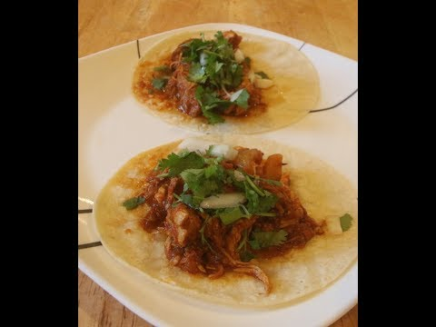 Mexican Tinga Chicken Tacos Recipe