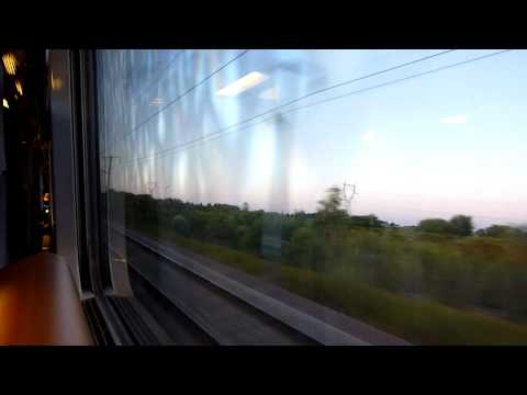 Eurostar 300 Km/h Speed (600 Km/h Velocity Difference (400m Long Train/2,4 Sec)) 11.sec