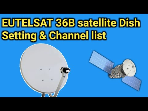 EUTELSAT 36B satellite is located at 36 degree most popular channel list 1 January 2018