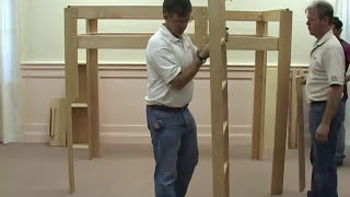 Hardwood Artisans - Loft Bed Assembly