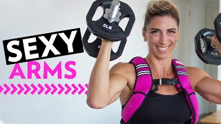 SEXY, STRONG ARMS AT ANY FITNESS LEVEL  — TRY THIS UPPER BODY WORKOUT