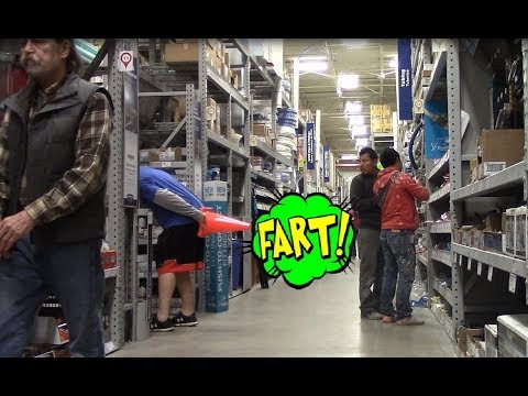 WET Farts prank!Flatulence Friday EP 47!😂 people of walmart, Farted in a Traffic cone, funny video