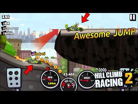 Hill Climb Racing 2 Formula Jump To The Roof 🏎