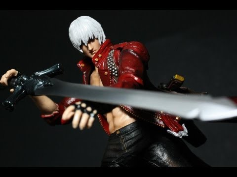 Toy Review: Play Arts Kai Dante (Devil May Cry 3)