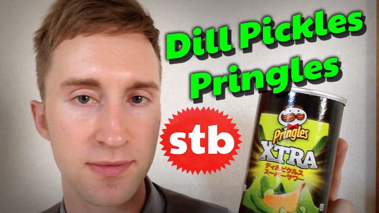 Dill Pickles Pringles In Japan  E   Solotravelblog