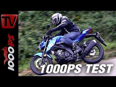 1000PS Test - Suzuki GSX-S 125 - ist weniger wirklich mehr?