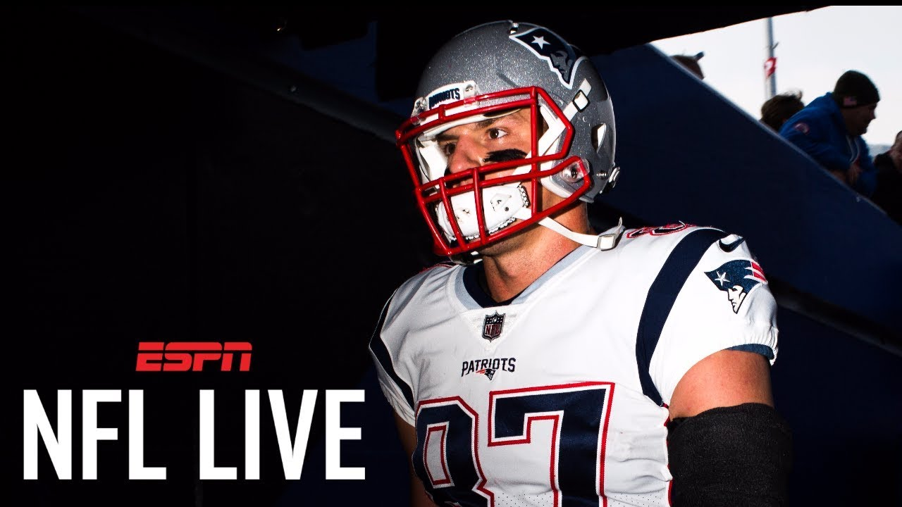low priced 0009a 2ea34 Rob Gronkowski suspended 1 game for his late hit against the Bills | NFL  Live | ESPN