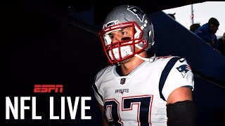 Rob Gronkowski suspended 1 game for his late hit against the Bills | NFL Live | ESPN