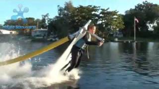 """MAN FLYING OVER WATER-""""TRUELY AMAZING""""!!!"""