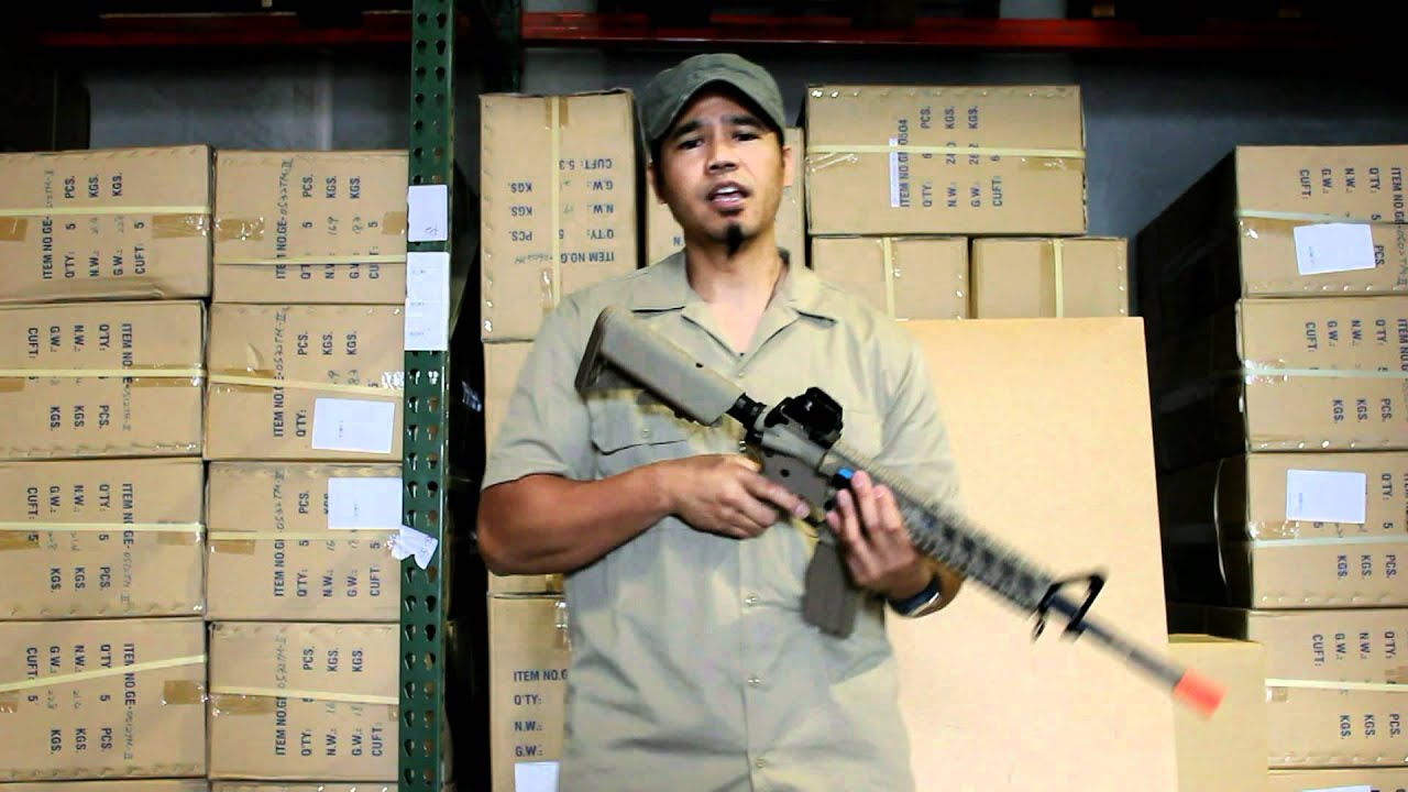 Airsoft M4 M16 AEG Hop Up Adjustment Video - How To