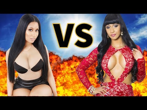 NICKI MINAJ VS. CARDI B | Before They Were Famous