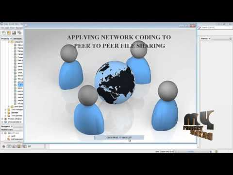 Final Year Projects | Applying Network Coding to Peer-to-Peer File Sharing