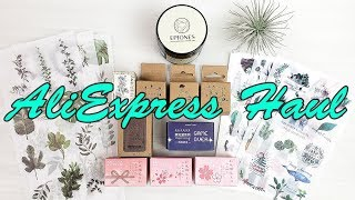 AliExpress Haul and Epiones CBD review | October 2019