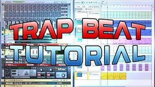 Tutorial: Trap Beat in Propellerhead Reason 5 | Free RPS File (Prod. By Limit Beats)