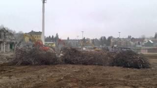 Hanappi-Abriss: Ein aktueller Blick auf die Baustelle (25.11.2014
