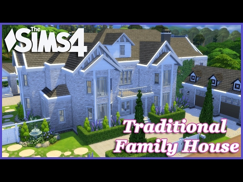 The Sims 4 - Large Traditional Family House 2/2