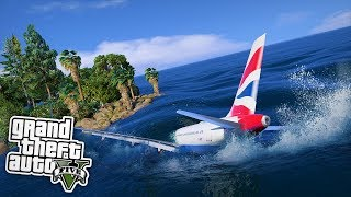 DER FLUGZEUGABSTURZ! 😱 - GTA 5 Real Life Mod