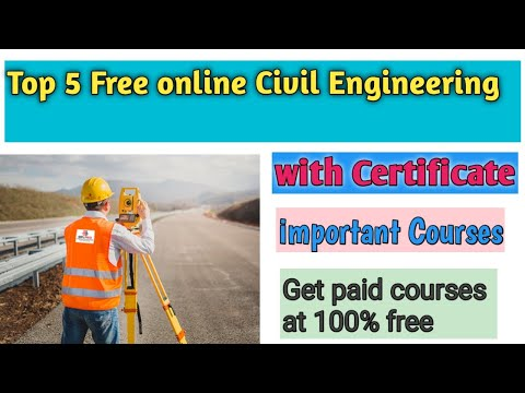 top-5-free-online-civil-engineering-courses-with-certificate-|-free-online-civil-engineering-courses