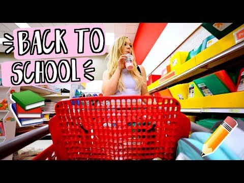 Back to School Shopping 2017! AlishaMarieVlogs