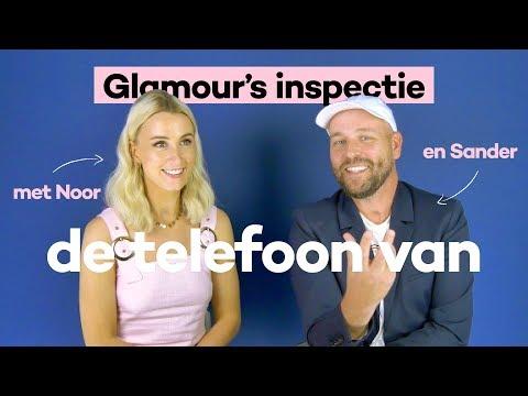 GLAMOUR INSPECTIE 👀📱de telefoon van: Queen of Jetlags Noor & Sander  GLAMOUR