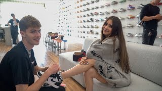 HE TOOK ME HYPEBEAST SHOE SHOPPING