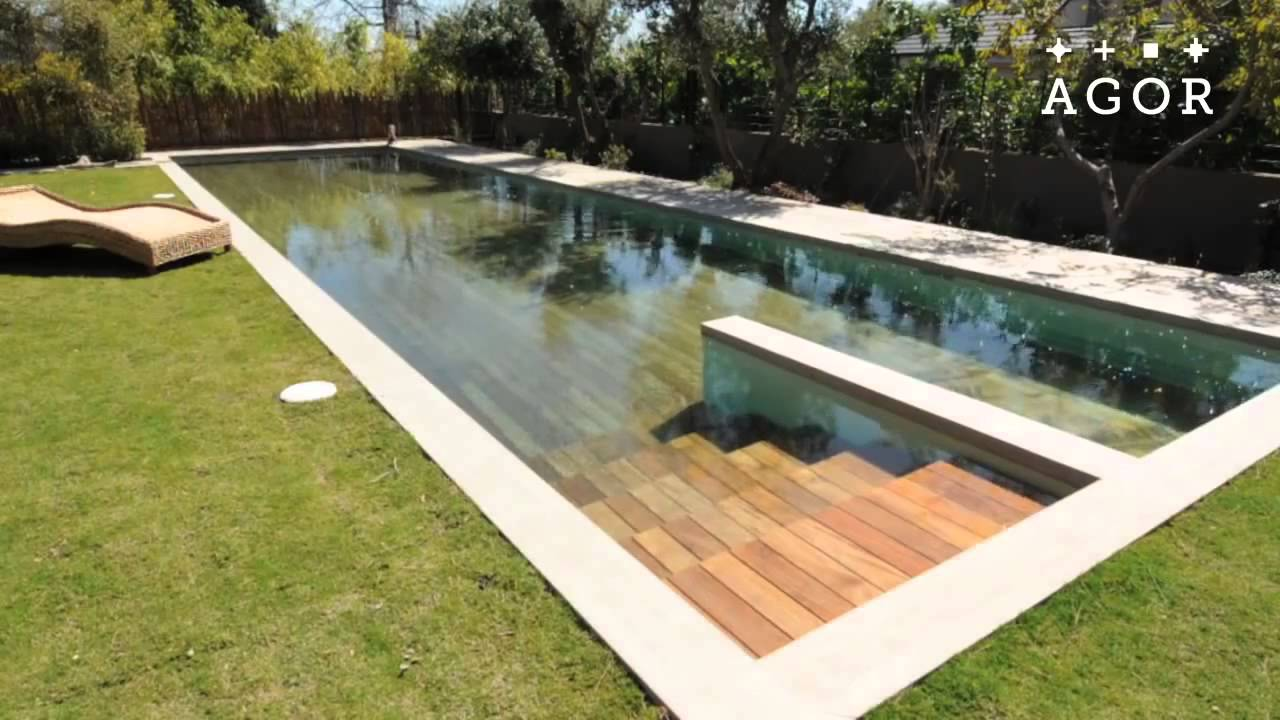 La piscine fond mobile qui disparait youtube for Piscine fond mobile tarif
