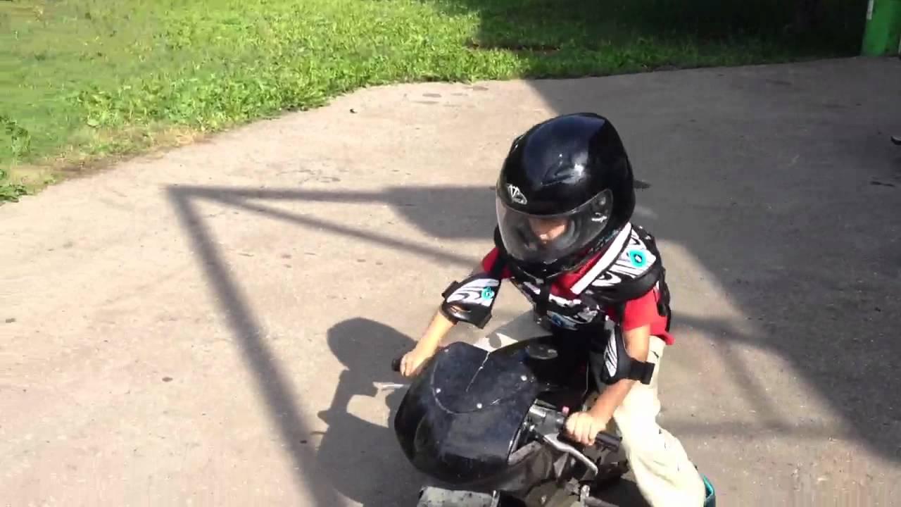 Pocket bike, детский мотоцикл. - YouTube