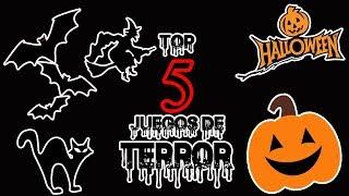 Top 5 Mis MEJORES Juegos de TERROR!!!-/Especial de Halloween/-(Top Videojuegos)