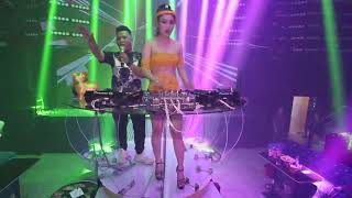 Dj Trang Miu Nhảy cực sung tại clup New Latin