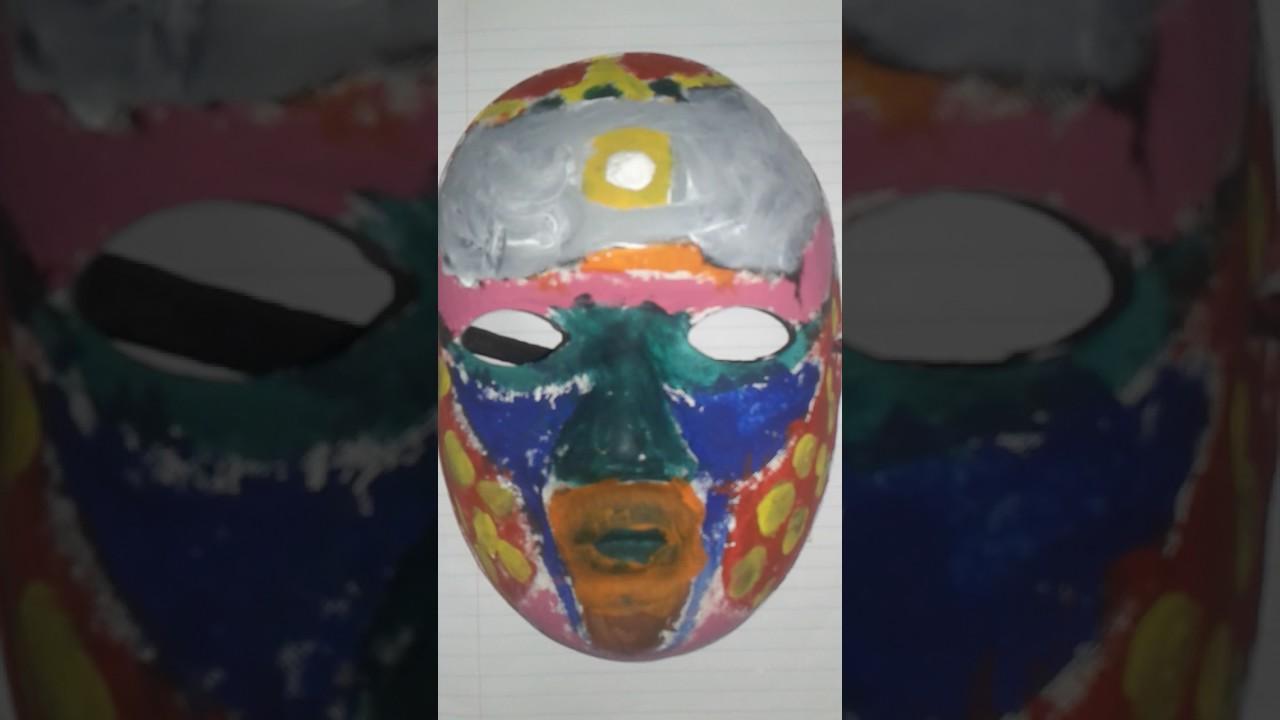 Boyanmış Maske Resmi Youtube