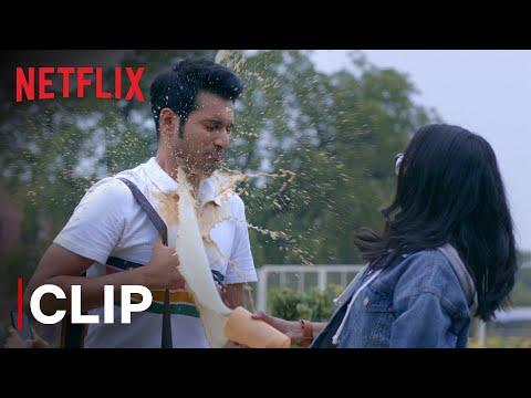 Prajakta Koli & Rohit Saraf Cold Coffee Scene | Mismatched | Netflix India