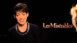 """My Fun Interview with Anne Hathaway for """"Les Miserables!'  I Told Her She'll Win an Oscar!"""