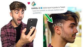 ME PUSE TUSA EN EL PELO Y KAROL G LO VIO!!
