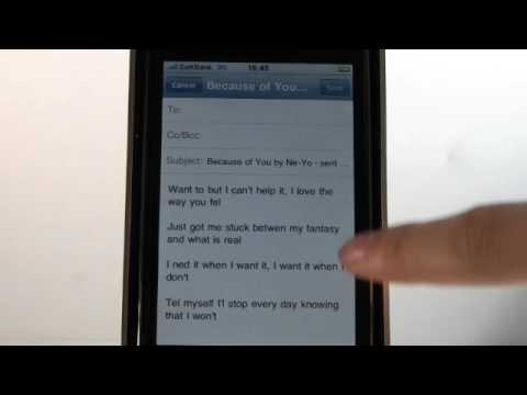 iPhone apps - Libretto - Lyric Finder