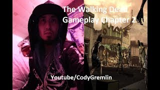 """THE WALKING DEAD GAMEPLAY / VLOG SEASON 1 """"A NEW DAY"""" CHAPTER 2 A TELLTALE SERIES"""