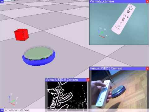 Robot Simulator: Interfacing V-REP with Hardware