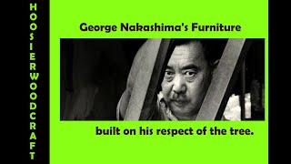 George Nakashima, Modern Craftsman.